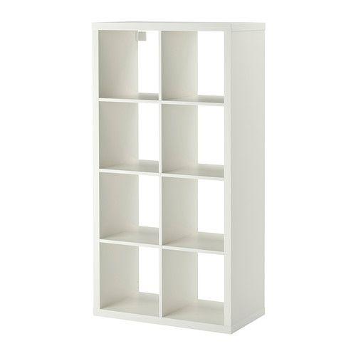 Kallax Shelf Unit White Forever Home Scrap Space