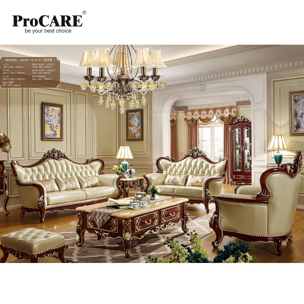 Us 3 489 00 Procare Luxury European American Style Leather Sofa