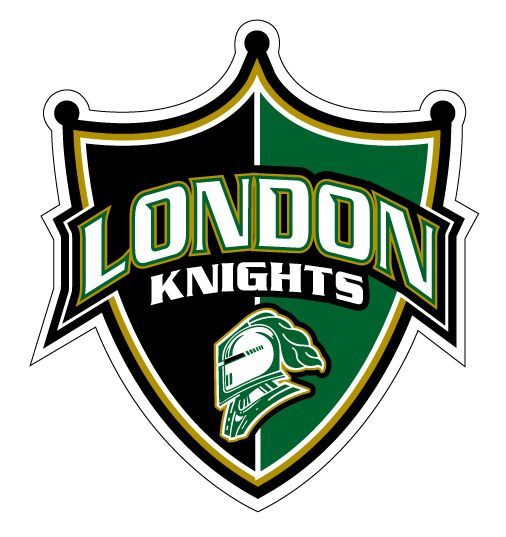 London Knights logo font | Knight logo, Hockey and Hockey leagues