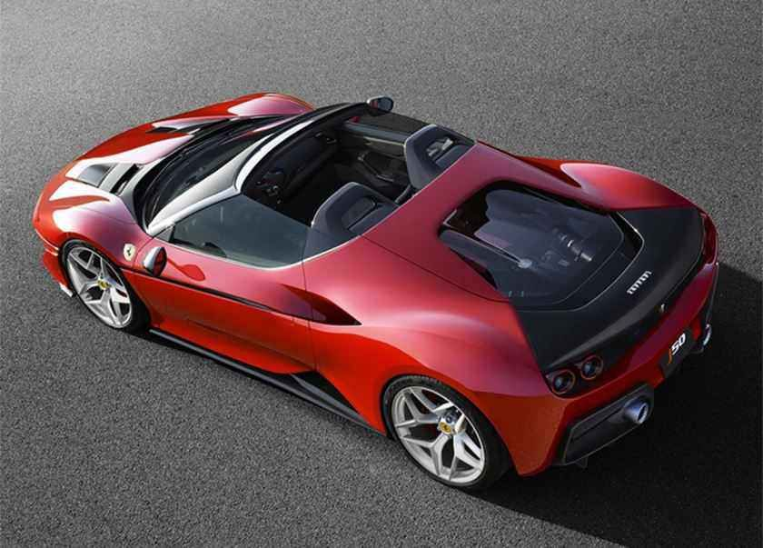 2019 Ferrari J50 O Aniversario Da Ferrari Preco Consumo