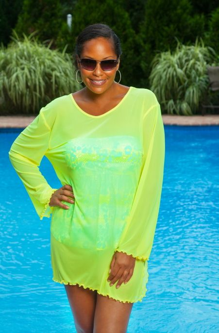 01b8329485f Beach Ready - this Always For Me Cover Sheer Mesh Bathing suit Cover Up is all  you need. The style of this plus size beach cover up is easy and comfortable .