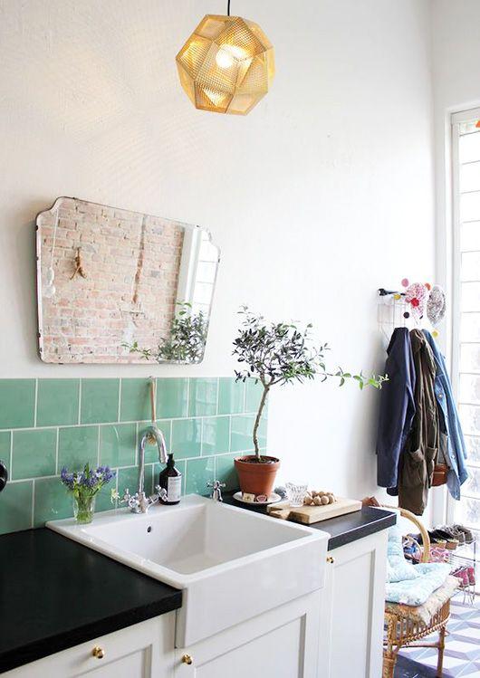 Vintage Landhaus Bad Schönstes Wohnen Pinterest Landhäuser - badezimmer vintage