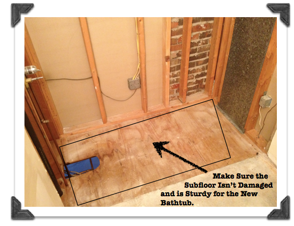 Make Sure The Subfloor Isn T Damaged And Is Sturdy For The New