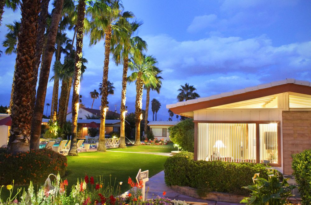 A Place in The Sun Hotel Palm Springs is a pet friendly