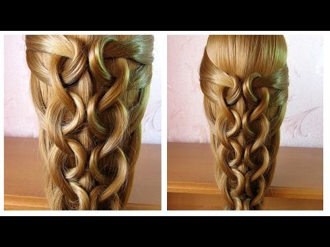 Tuto Coiffure Simple Cheveux Long Coiffure Tresse