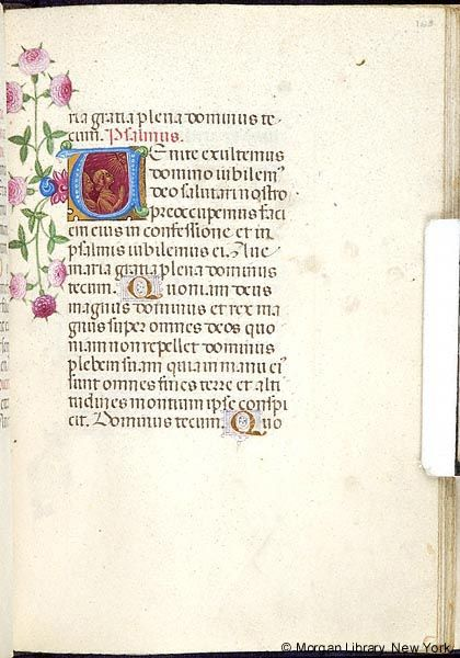 Book of Hours, MS M.454 fol. 163r - Images from Medieval and Renaissance Manuscripts - The Morgan Library & Museum