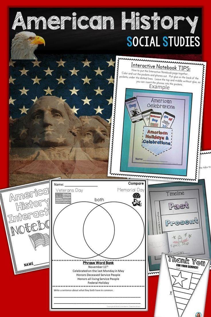 American History Kindergarten And 1st Grade 9 Weeks Pinterest