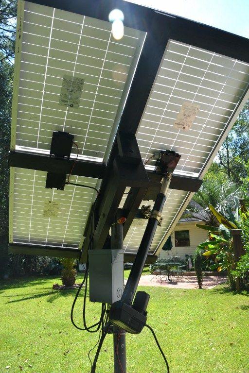 Solar Tracker using Linear Actuator | Esmae | Solar tracker