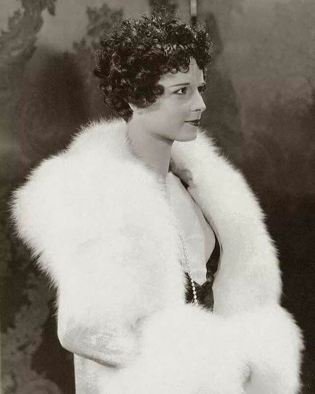 Curly haired Louise Brooks