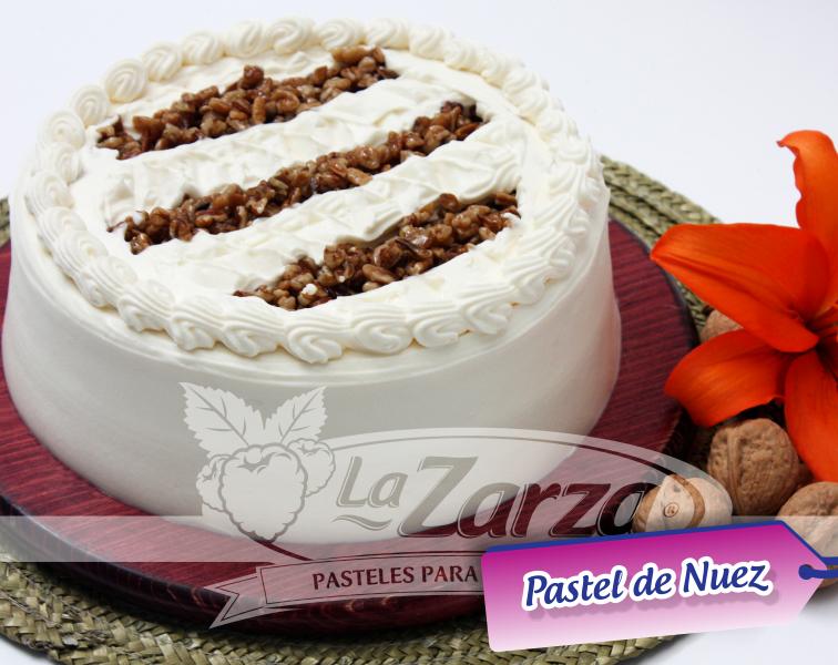 Pastel de Nuez Pastelerías La Zarza Postre. | Pasteles Para ...