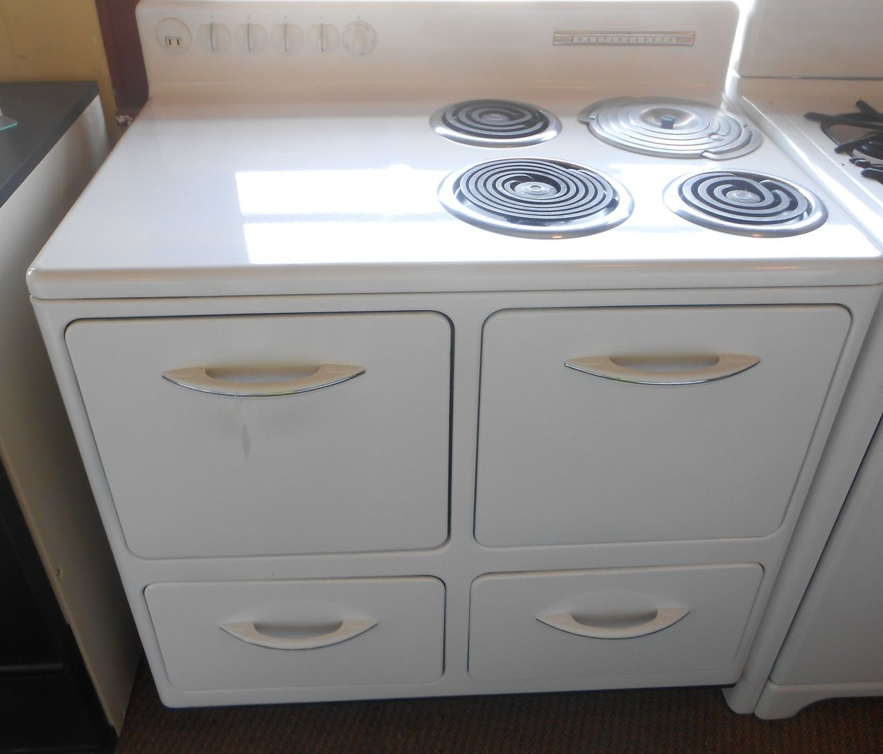 Appliance City - VINTAGE WESTINGHOUSE ELECTRIC RANGE 38 INCH ...