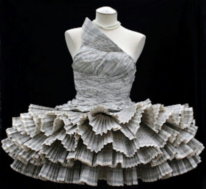 Paper Dress by Jolis Paons