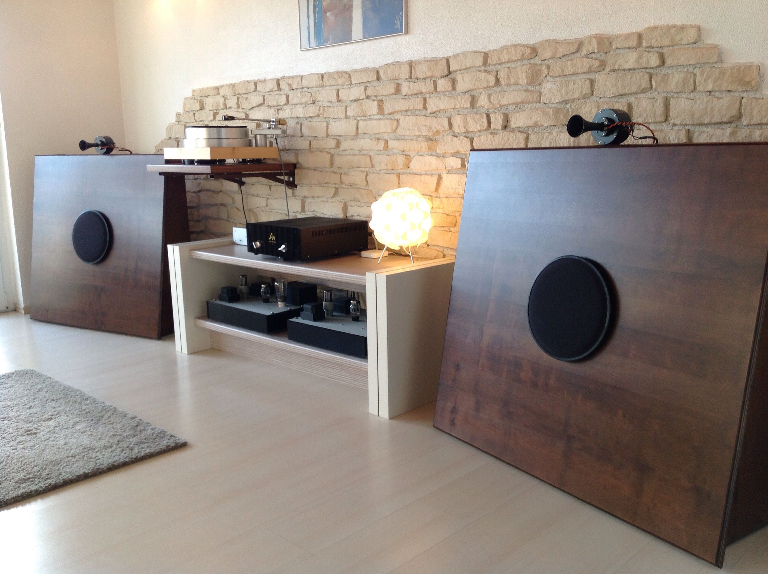 Current state of the year 2015 ob classic baffle with phy hp range chassis and line 597 - Audio anlage wohnzimmer ...