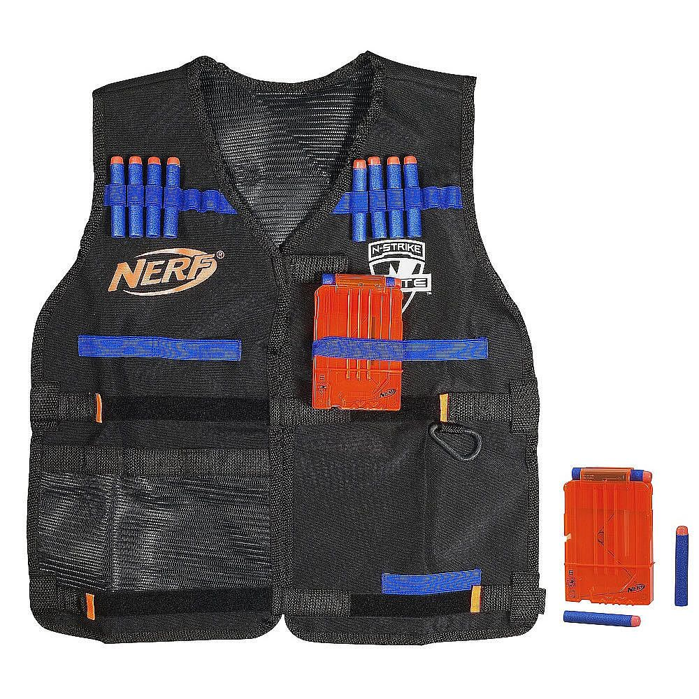 Billed as the highest capacity Nerf gun ever created, the new N-Strike  Elite Hail-Fire Blaster can hold eight eighteen shot clips, putting 144  darts at.