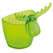 Koziol Rudolf, colino da tè, filtro per tazza, verde trasparente