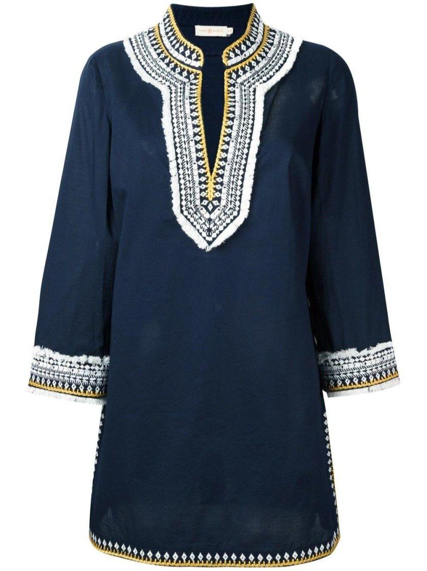 cfa2cc694 TORY BURCH Embroidered Tunic Dress.  toryburch  cloth  dresses ...
