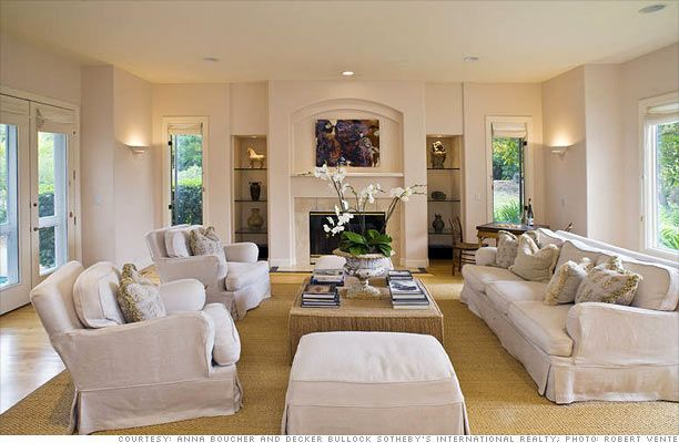 Built In Bars Next To Fireplaces | The Living Room Boasts A Gorgeous  Fireplace, Built