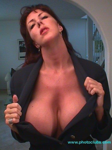 Would you... cleavage mature women love amazing milf