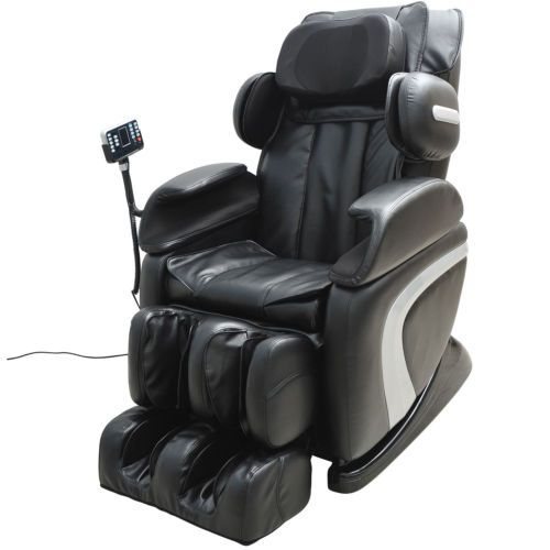 Details About Luxury Reclining Leather Massage Chair Automatic