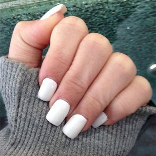 Square Shaped Nails Page 8 Of 30 Steal Her Style Page 8 Short Acrylic Nails White Acrylic Nails Square Acrylic Nails