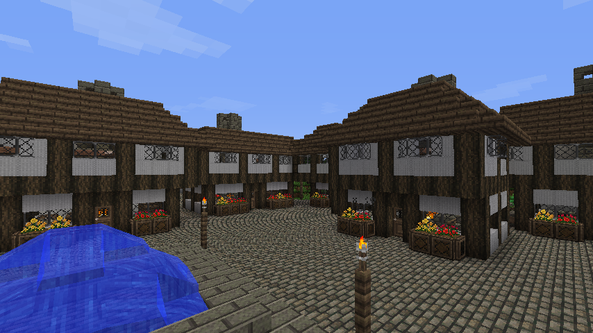 Cool minecraft village house ideas. The Town of Oakcrest - Screenshots - Show Your Creation ...