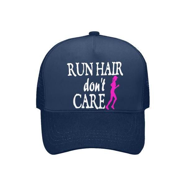 Image result for cap run hair don't care