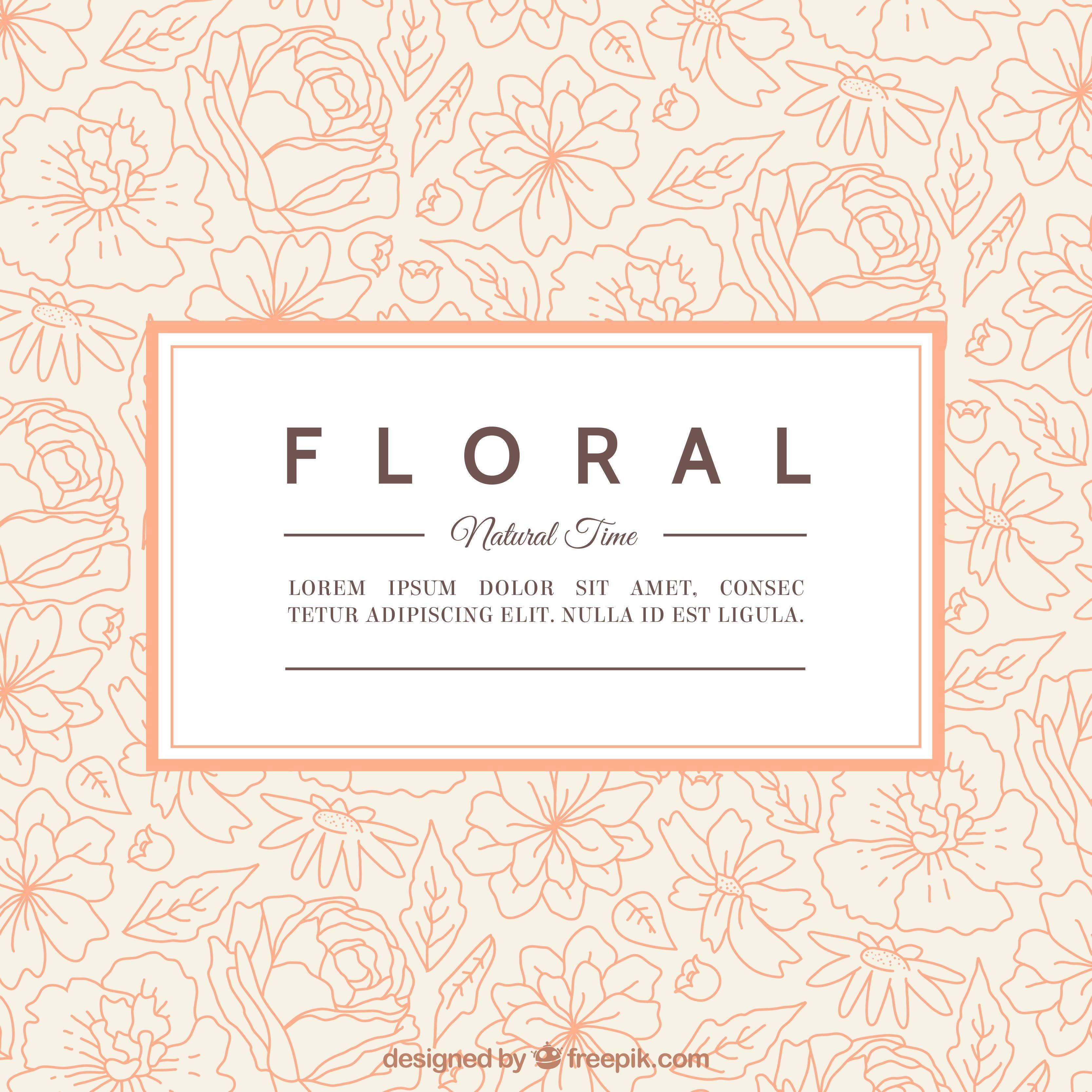 Banque Images Vectorielles Modles De Cartes Visite Tlchargement Gratuit Vector Modle Vectoriel Motifs Floraux