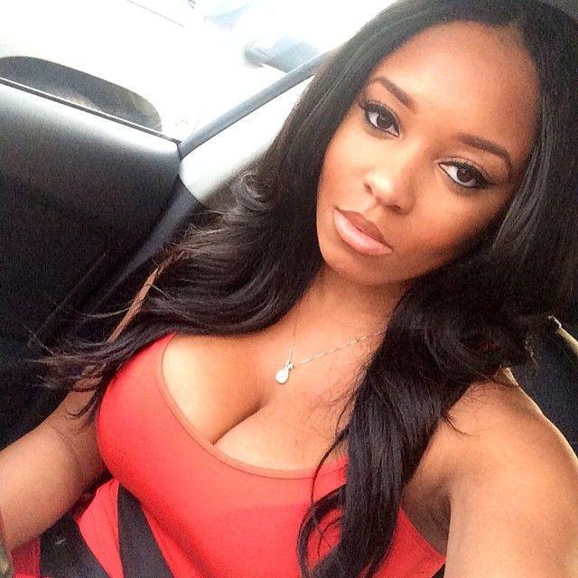 Hot black ebony girl