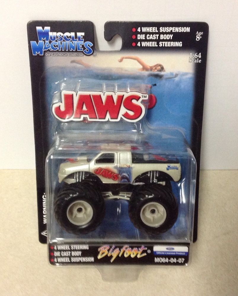 Monster truck toys bigfoot