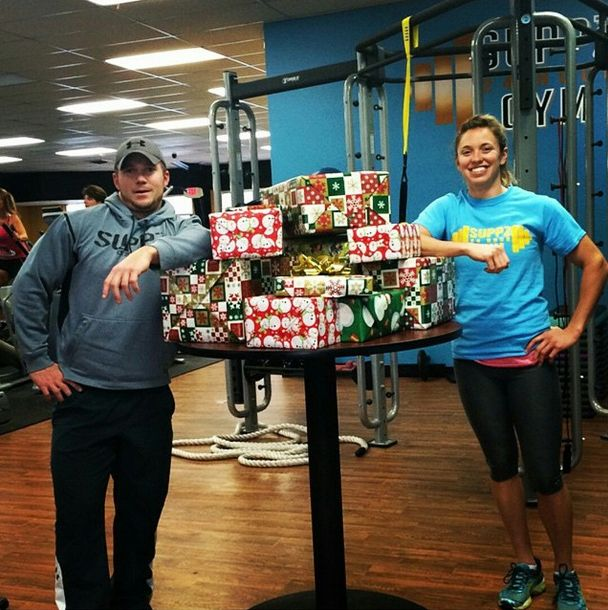 The Joy Of Giving At Suppz Gympresents For Our Salvation Army Family