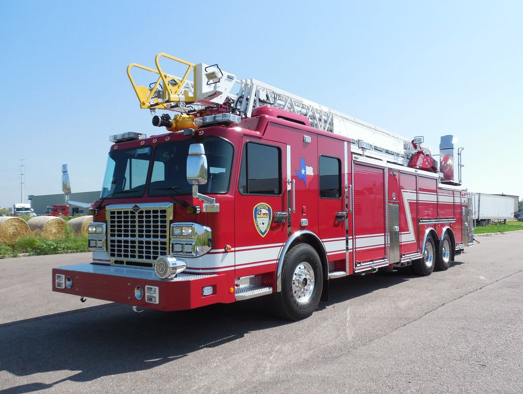 New Spartan Erv Ladders For Houston Fire Apparatus
