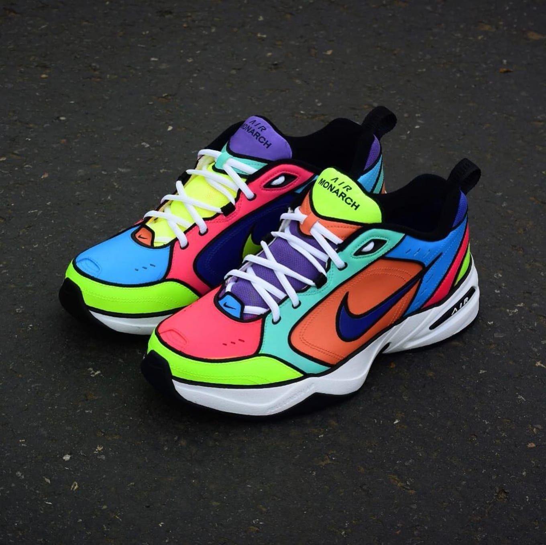 Nike air monarch, Nike, Custom nike shoes