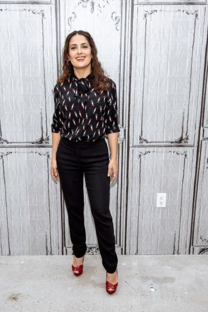 9c3f674f168f6 Find Salma Hayek's style on the high street with Julie's fashion fix -  Daily Record