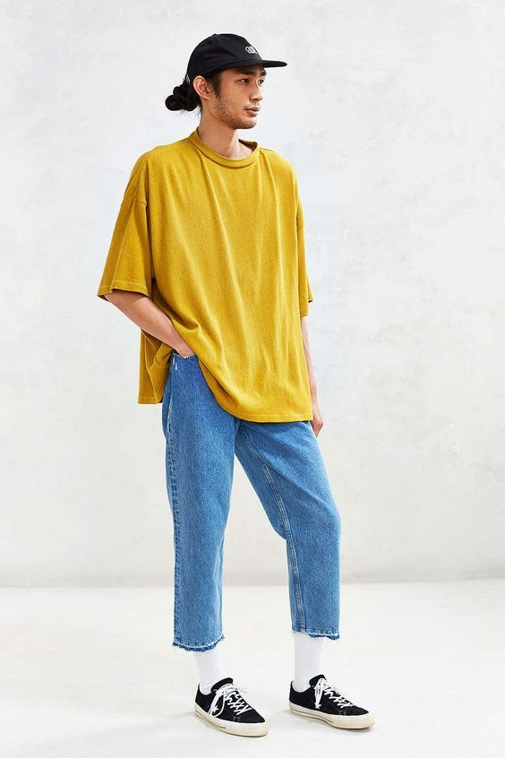Uo Extreme Oversized Tee Urban Outfitters Moda Vintage