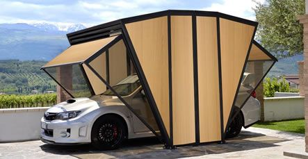 Gazebox Garage Gazebo And Carport Metal Iron And Pvc House