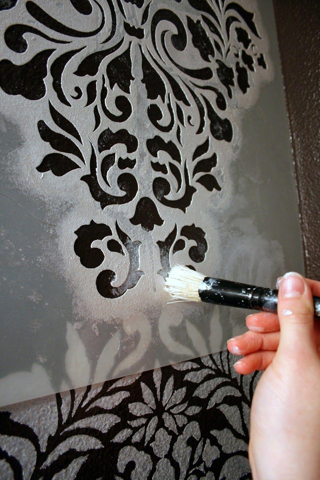 interior wall painting ideas stenciling http umadepa com