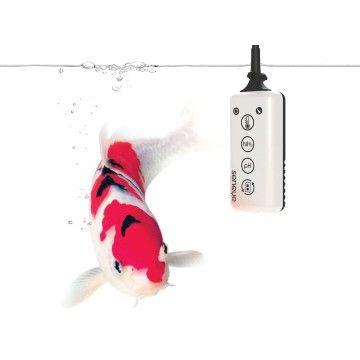 Seneye Pond - Seneye heeft een unieke monitoringsapparaat ontwikkeld voor uw vijver! De Seneye sensor die in het water hangt, wordt gekoppeld aan uw computer (USB). Vanaf de Seneye site download u de software en gebruiksaanwijzing, waardoor u direct metingen kunt verrichten.