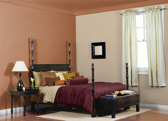 orangeterra cotta wallsbeige cabinet color i used these - Terracotta Wall Paint
