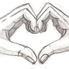 Image result for easy sketch of relationship   Easy love ...