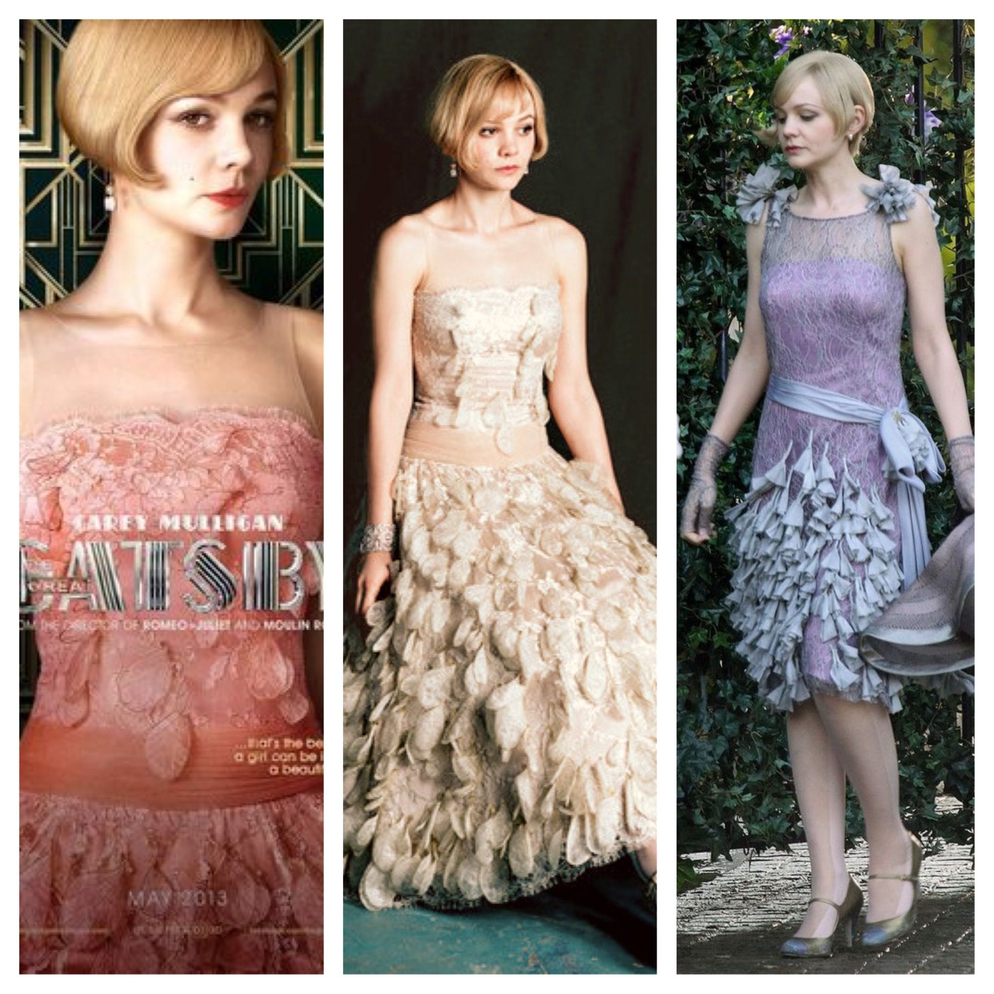 I am in Love with all of Daisy's dresses from the Great Gatsby