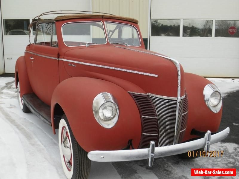 1940 Ford convertible #ford #convertible #forsale #canada | Cars ...