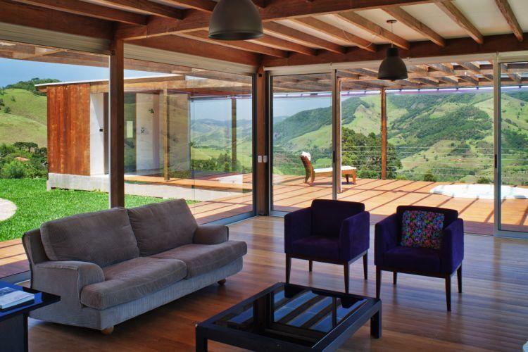 Casas de madeira de arquitetura moderna interior casas for Interior de casas modernas