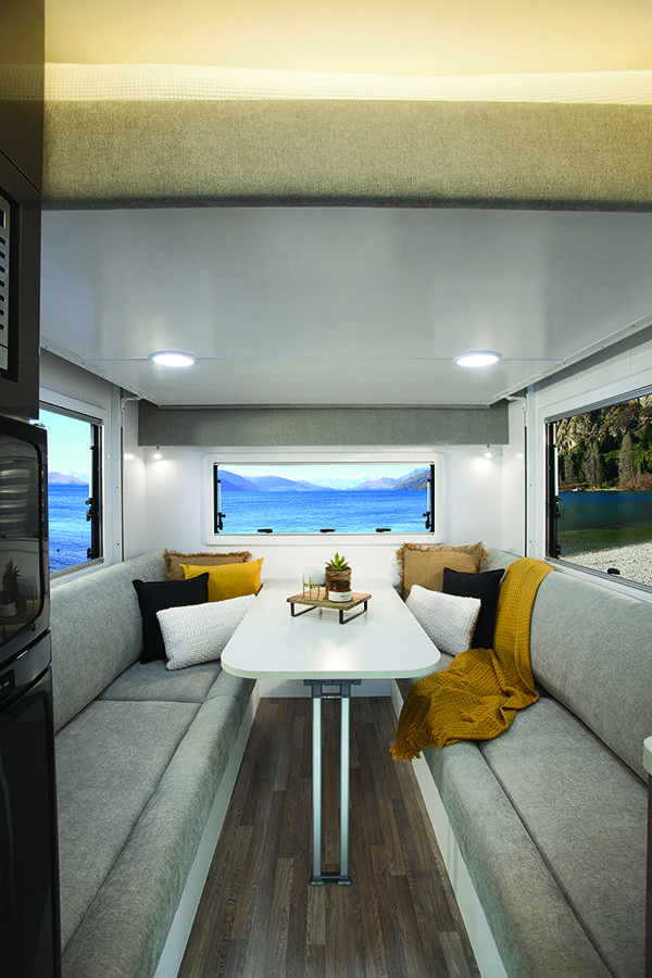 An Australian made RV that is compact and self contained