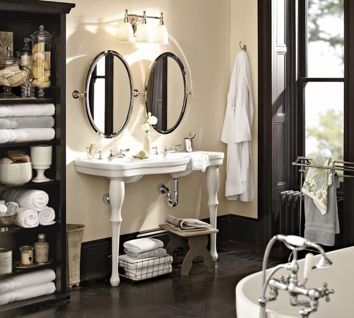 Classic Glass Apothecary Jars Bathroom Decor Pottery Barn Bathroom Home
