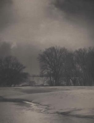 George H. Seeley, Winter Landscape, 1910