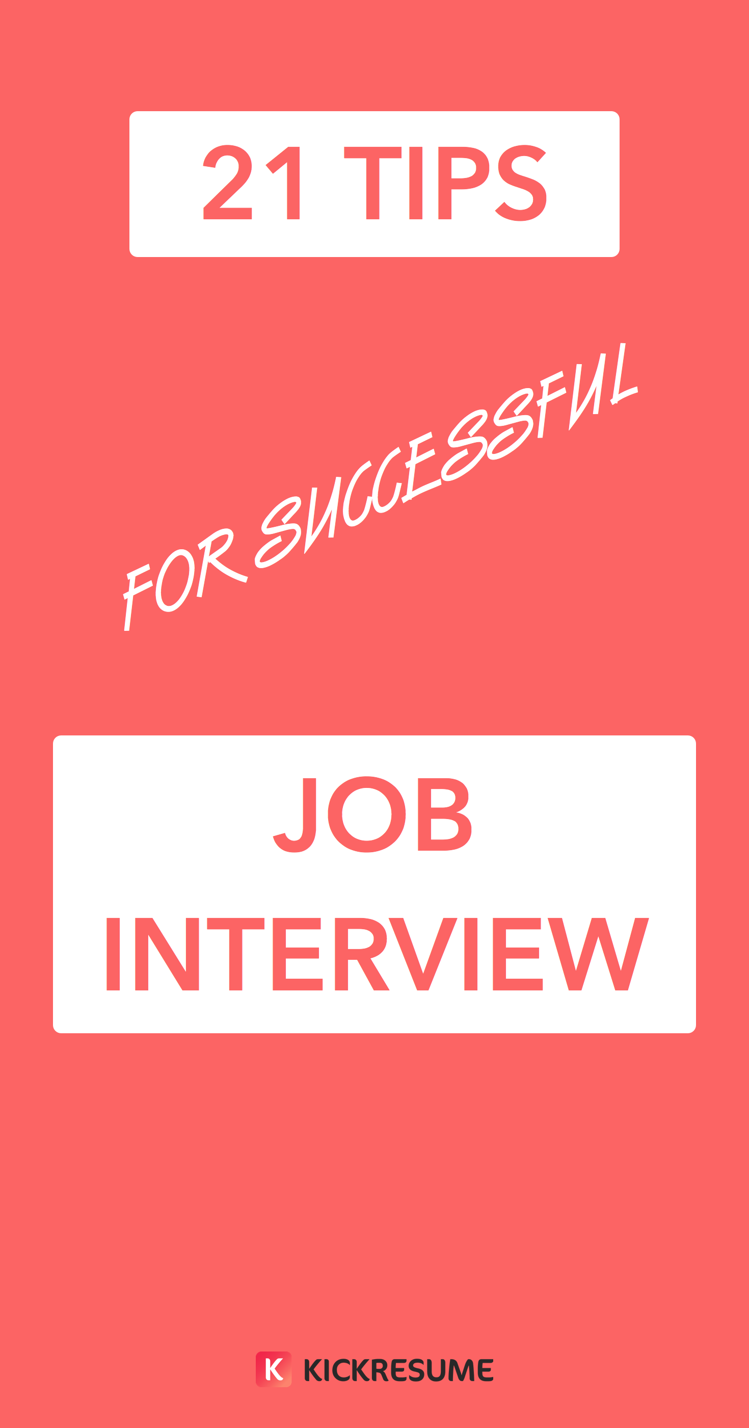 21 Tips for a Successful Job Interview [infographic] Job