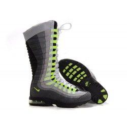 pretty nice 94a3d a6b50 Nike Air Max 95 Zen Venti Womens Boots - White Gray Black - Running