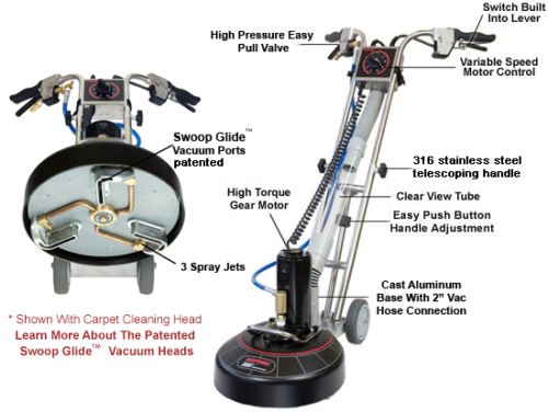 Details about Rotovac 360XL Carpet Cleaning Rotary