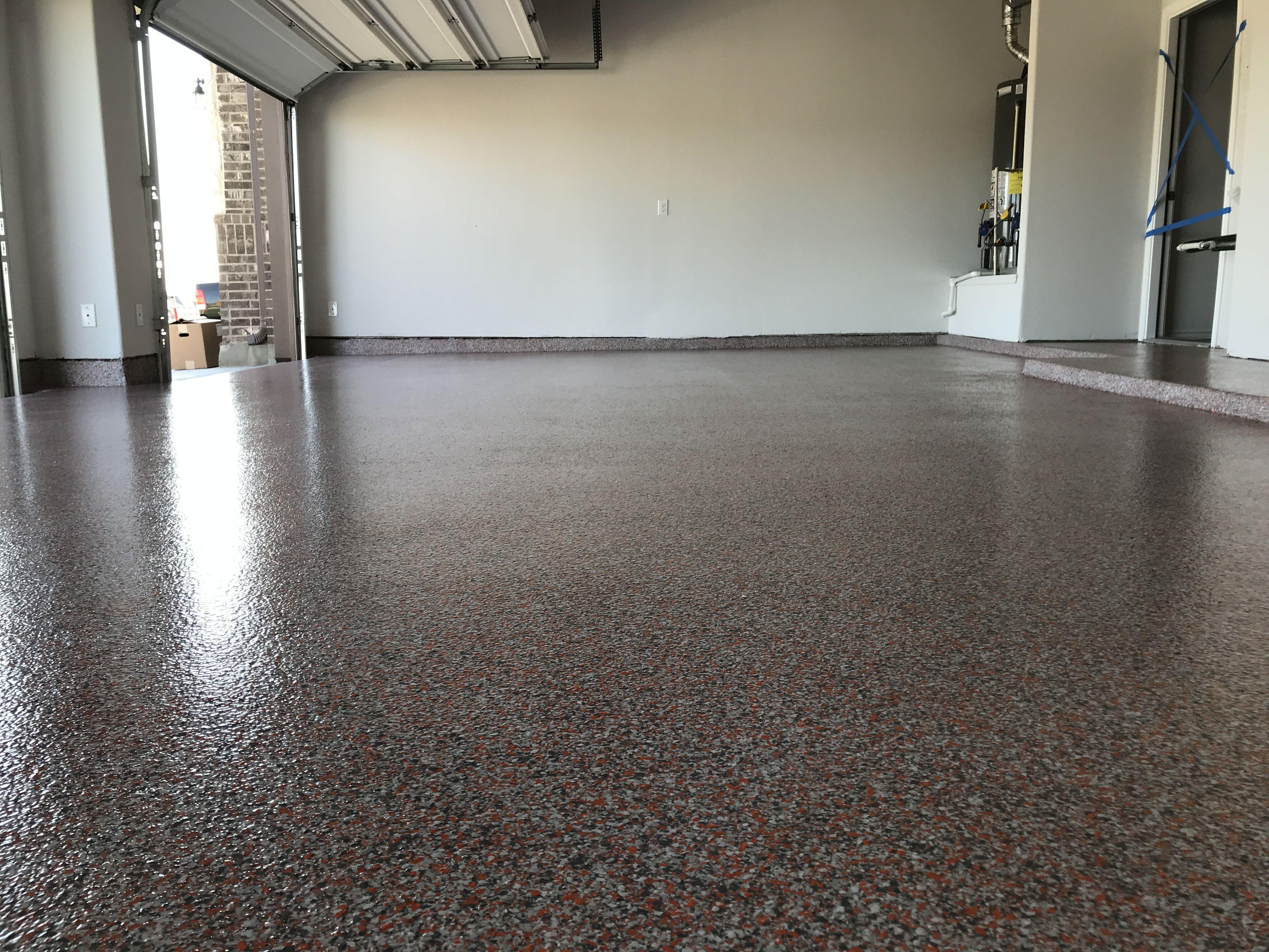 Classic B 314 Done In Fort Worth Texas Polyaspartic Garagefloors Customfloor Customgarage Coati Flooring Contractor Garage Floor Garage Floor Coatings
