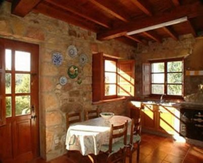 Decoracion de interiores estilo rustico interiores casas - Fotos de cocinas antiguas ...